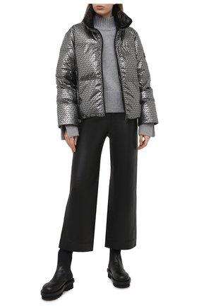 Женский пуховая куртка MICHAEL MICHAEL KORS черного цвета, арт. MH02JA3F9Z | Фото 2