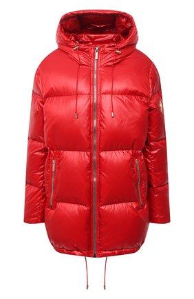 Женский пуховая куртка MICHAEL MICHAEL KORS красного цвета, арт. MH02J25CDF | Фото 1