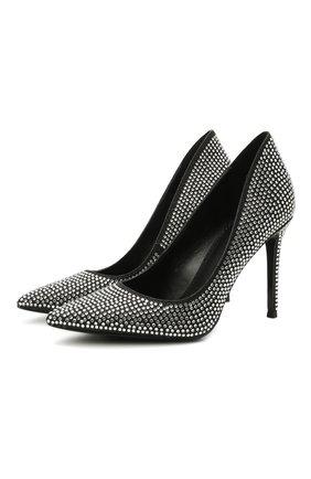 Женские текстильные туфли keke MICHAEL MICHAEL KORS черного цвета, арт. 40R1KEHP2D | Фото 1