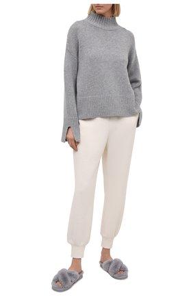 Женского домашние туфли lala MICHAEL MICHAEL KORS светло-серого цвета, арт. 40R1LAFP1D | Фото 2