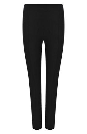 Женские брюки из хлопка и вискозы MICHAEL MICHAEL KORS черного цвета, арт. MH03HF34BB | Фото 1