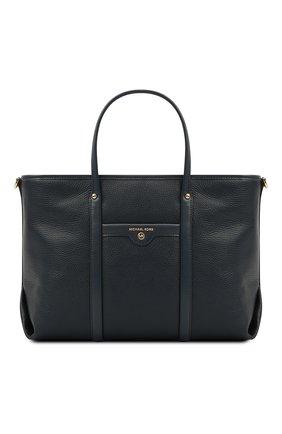 Женский сумка-тоут beck medium MICHAEL MICHAEL KORS темно-синего цвета, арт. 30H0GKNT2L | Фото 1