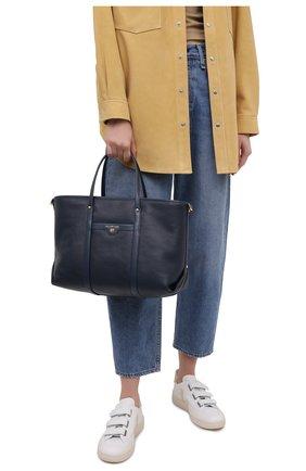 Женский сумка-тоут beck medium MICHAEL MICHAEL KORS темно-синего цвета, арт. 30H0GKNT2L | Фото 2
