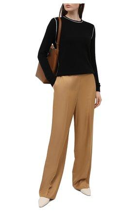 Женский кашемировый пуловер THEORY черного цвета, арт. K1118735 | Фото 2