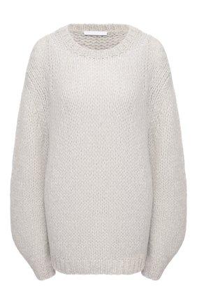 Женский шерстяной свитер HELMUT LANG серого цвета, арт. K10HW701 | Фото 1