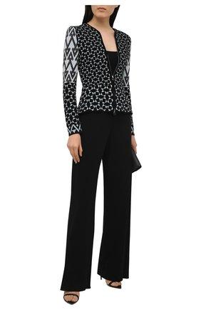 Женские брюки из вискозы TOM FORD черного цвета, арт. PAJ066-FAX162 | Фото 2