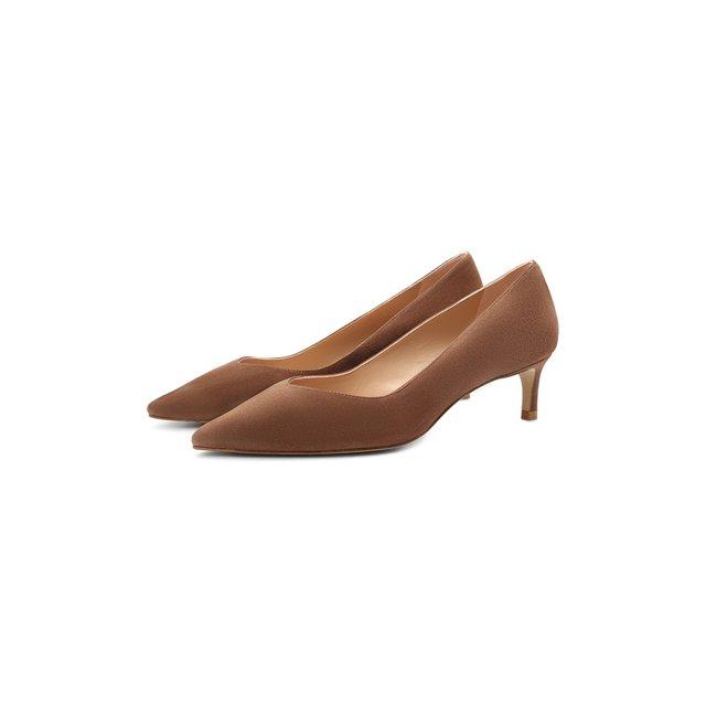 Замшевые туфли Anny Stuart Weitzman