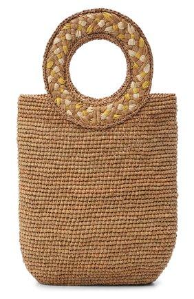 Женский сумка-тоут SANS-ARCIDET бежевого цвета, арт. TITI BAG   Фото 1