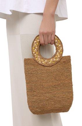 Женский сумка-тоут SANS-ARCIDET бежевого цвета, арт. TITI BAG   Фото 2