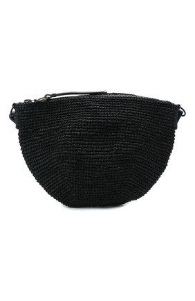 Женская сумка poppy large SANS-ARCIDET черного цвета, арт. P0PPY BAG/L   Фото 1