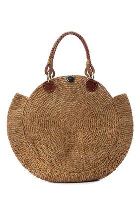 Женская сумка nova medium SANS-ARCIDET бежевого цвета, арт. N0VA BAG MA-D S21/M   Фото 1