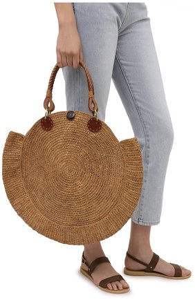 Женская сумка nova medium SANS-ARCIDET бежевого цвета, арт. N0VA BAG MA-D S21/M   Фото 2