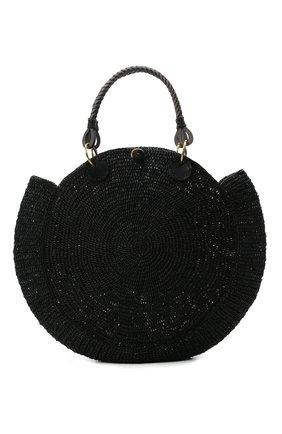 Женская сумка nova medium SANS-ARCIDET черного цвета, арт. N0VA BAG MA-D S21/M   Фото 1