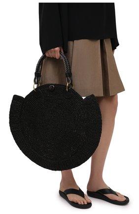 Женская сумка nova medium SANS-ARCIDET черного цвета, арт. N0VA BAG MA-D S21/M   Фото 2