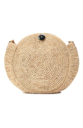 Женская сумка nova small SANS-ARCIDET бежевого цвета, арт. N0VA BAG MA-C S21/XS   Фото 1