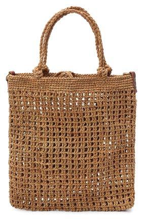 Женская сумка hudson medium SANS-ARCIDET бежевого цвета, арт. HUDS0N BAG/M   Фото 1