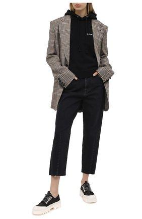 Женские джинсы 3X1 серого цвета, арт. WX1110921/RENAISSANCE | Фото 2