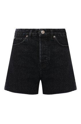 Женские джинсовые шорты 3X1 серого цвета, арт. WS0101089/RENAISSANCE | Фото 1