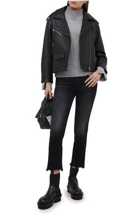 Женские джинсы 3X1 серого цвета, арт. W3SAC0921/I/SHAKE1 | Фото 2