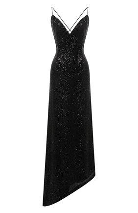 Женское платье с пайетками RETROFÊTE черного цвета, арт. PF20-2736 | Фото 1