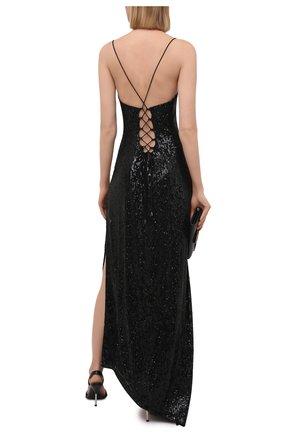 Женское платье с пайетками RETROFÊTE черного цвета, арт. PF20-2736 | Фото 2