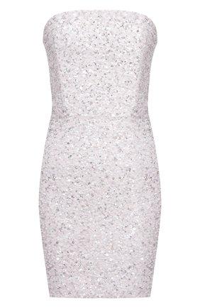 Женское платье с пайетками RETROFÊTE серебряного цвета, арт. SS20-2746 | Фото 1