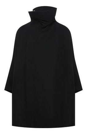 Женская куртка RICK OWENS черного цвета, арт. RP21S3767/TS   Фото 1
