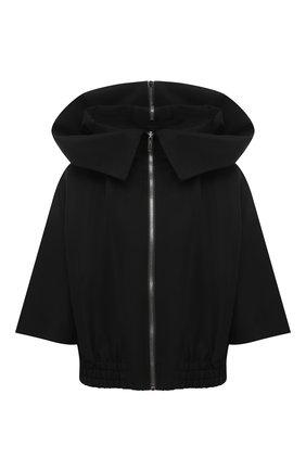 Женская куртка RICK OWENS черного цвета, арт. RP21S3736/TS   Фото 1