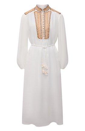Женское платье ZIMMERMANN белого цвета, арт. 9955DBRG | Фото 1