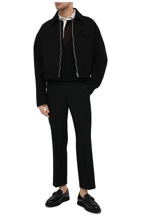 Мужские кожаные лоферы pinnox BALLY черного цвета, арт. PINN0X/40 | Фото 2 (Мужское Кросс-КТ: Лоферы-обувь; Материал внутренний: Натуральная кожа; Стили: Кэжуэл)