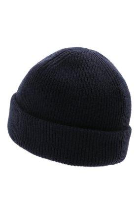 Мужская шерстяная шапка ACNE STUDIOS темно-синего цвета, арт. C40134/M | Фото 2