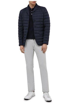 Мужские джинсы JACOB COHEN светло-серого цвета, арт. J688 C0MF 07729-W4/55 | Фото 2