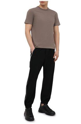 Мужские джоггеры RICK OWENS черного цвета, арт. RU21S6378/NBS | Фото 2