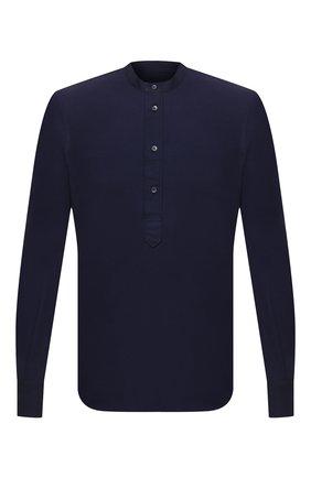 Мужская хлопковая рубашка ASPESI темно-синего цвета, арт. S1 A AY45 9408 | Фото 1