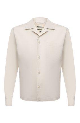 Мужская хлопковая рубашка ASPESI кремвого цвета, арт. S1 A CE35 G436 | Фото 1