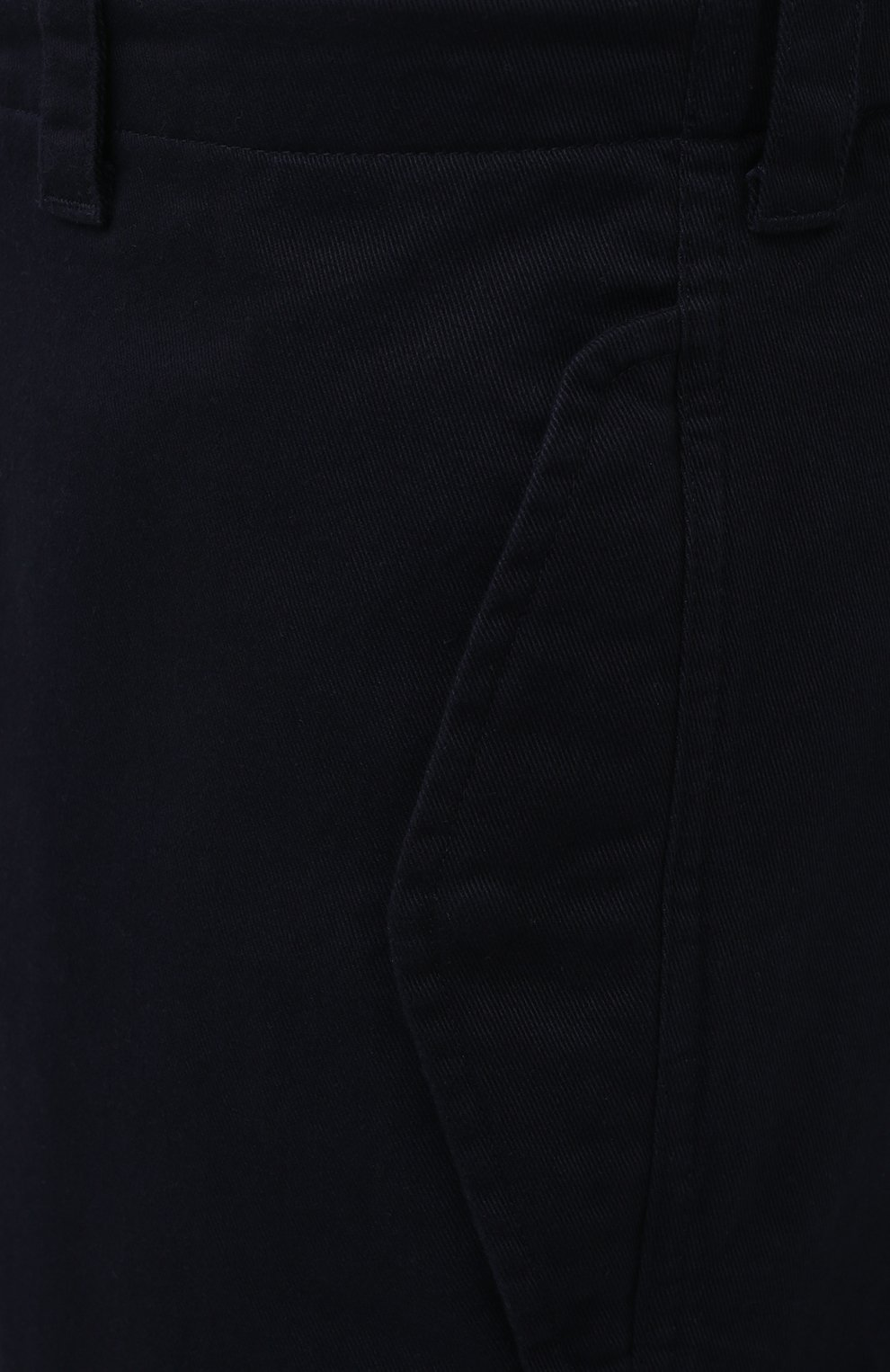Мужские хлопковые брюки-карго ASPESI темно-синего цвета, арт. S1 A CP10 E794 | Фото 5 (Силуэт М (брюки): Карго; Длина (брюки, джинсы): Стандартные; Случай: Повседневный; Материал внешний: Хлопок; Стили: Кэжуэл)