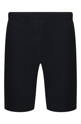 Мужские шорты ASPESI темно-синего цвета, арт. S1 A CQ32 G457 | Фото 1 (Мужское Кросс-КТ: Шорты-одежда; Длина Шорты М: До колена; Принт: Без принта; Материал внешний: Синтетический материал; Стили: Кэжуэл)