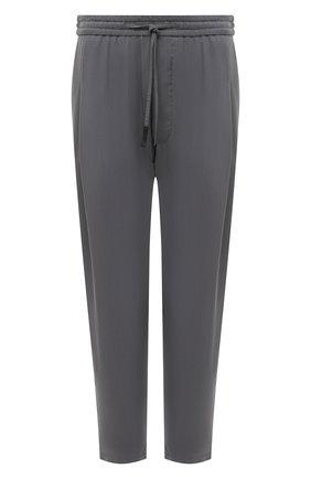 Мужские брюки GIORGIO ARMANI светло-серого цвета, арт. 1SGPP0HG/T00AB | Фото 1