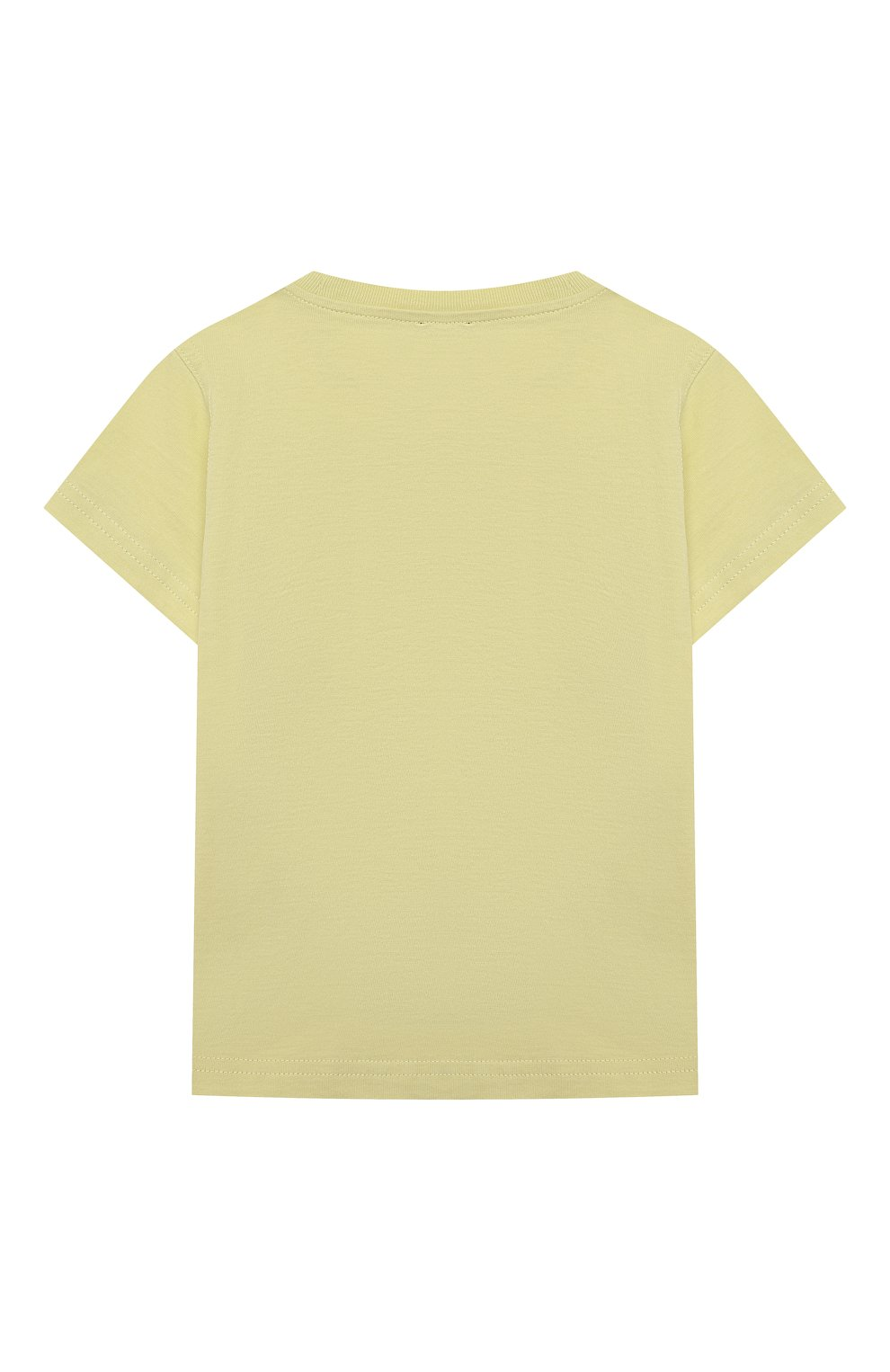 Детский хлопковая футболка IL GUFO желтого цвета, арт. P21TS271M0014/24M | Фото 2