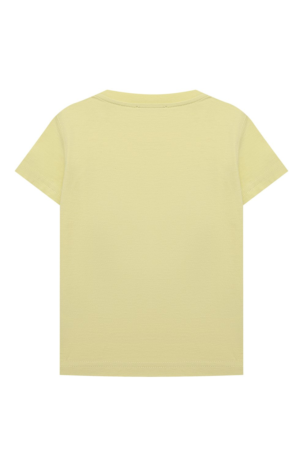 Детский хлопковая футболка IL GUFO желтого цвета, арт. P21TS271M0014/12M-18M   Фото 2