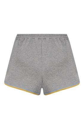 Детские хлопковые шорты GUCCI серого цвета, арт. 647283/XJC9W | Фото 2