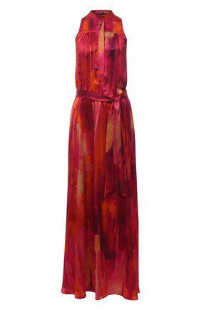 Женское шелковое платье KITON розового цвета, арт. D51326K09T47 | Фото 1