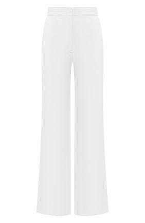 Женские хлопковые брюки DRIES VAN NOTEN белого цвета, арт. 211-10918-2026 | Фото 1