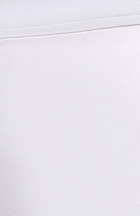 Женские хлопковые брюки DRIES VAN NOTEN белого цвета, арт. 211-10918-2026   Фото 5