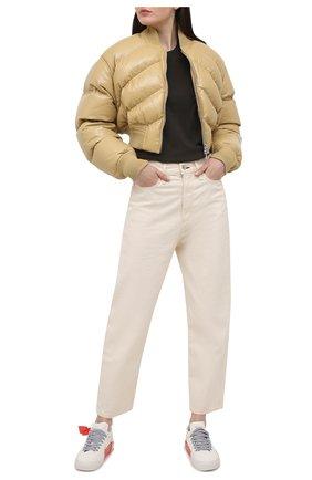 Женские замшевые кеды arrow OFF-WHITE белого цвета, арт. 0WIA178R21LEA0010109 | Фото 2