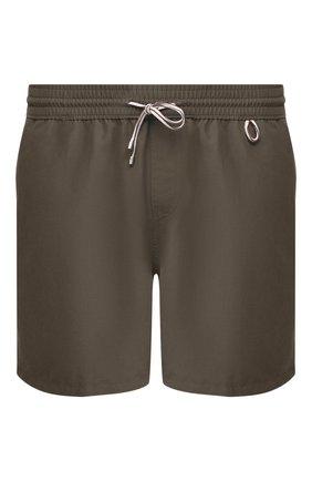 Мужские плавки-шорты LORO PIANA хаки цвета, арт. FAG1762   Фото 1