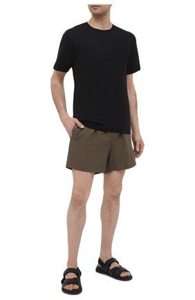 Мужские плавки-шорты LORO PIANA хаки цвета, арт. FAG1762   Фото 2