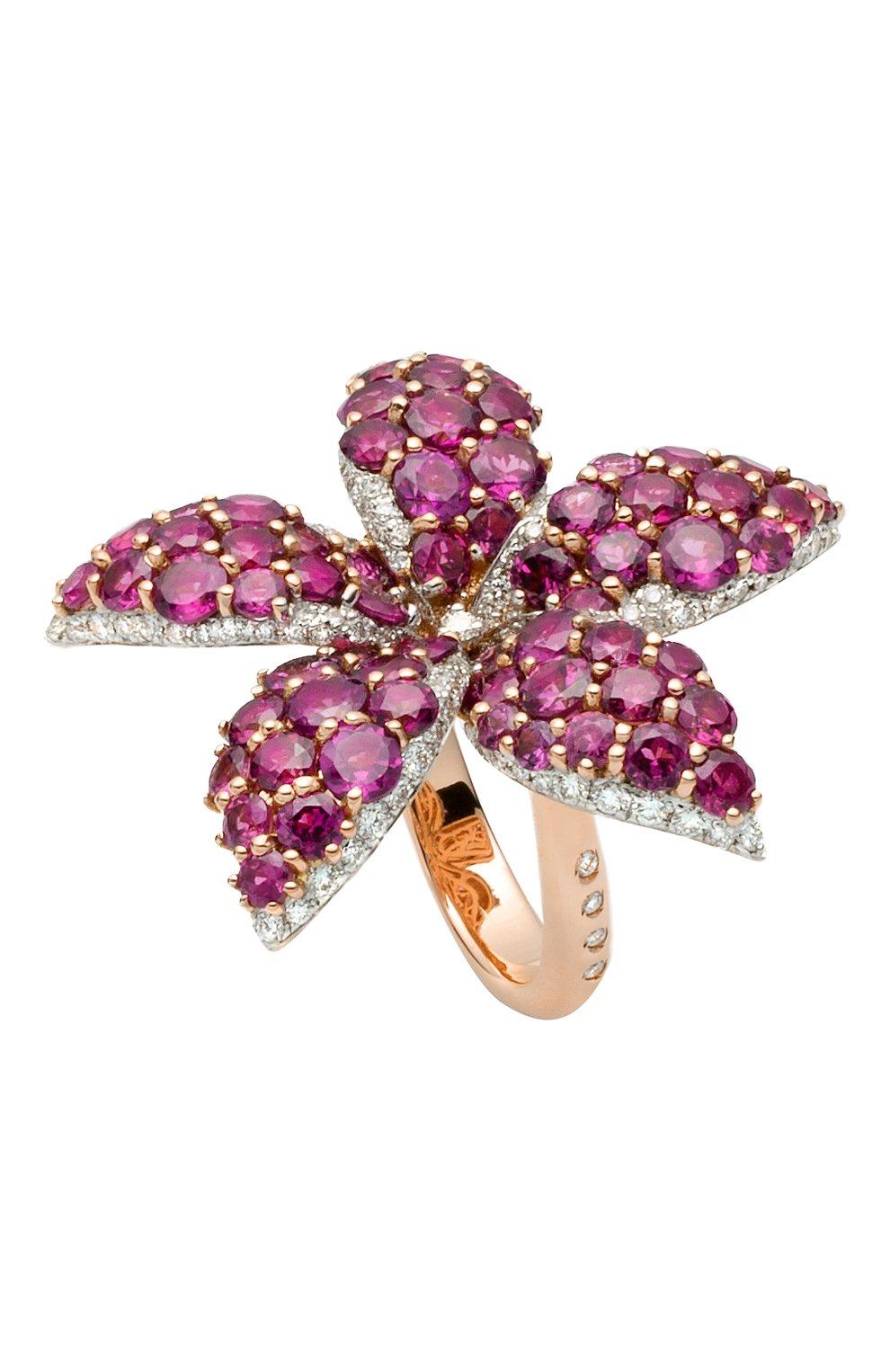 Женские кольцо CASATO бесцветного цвета, арт. MX1163ROD/BT-P | Фото 1