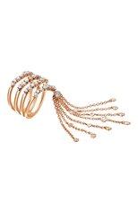 Женские кольцо CASATO бесцветного цвета, арт. MX701BT | Фото 1 (Материал сплава: Розовое золото; Драгоценные камни: Бриллианты)
