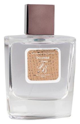 Мужской парфюмерная вода incense FRANCK BOCLET бесцветного цвета, арт. 3575070044423 | Фото 1 (Ограничения доставки: flammable)